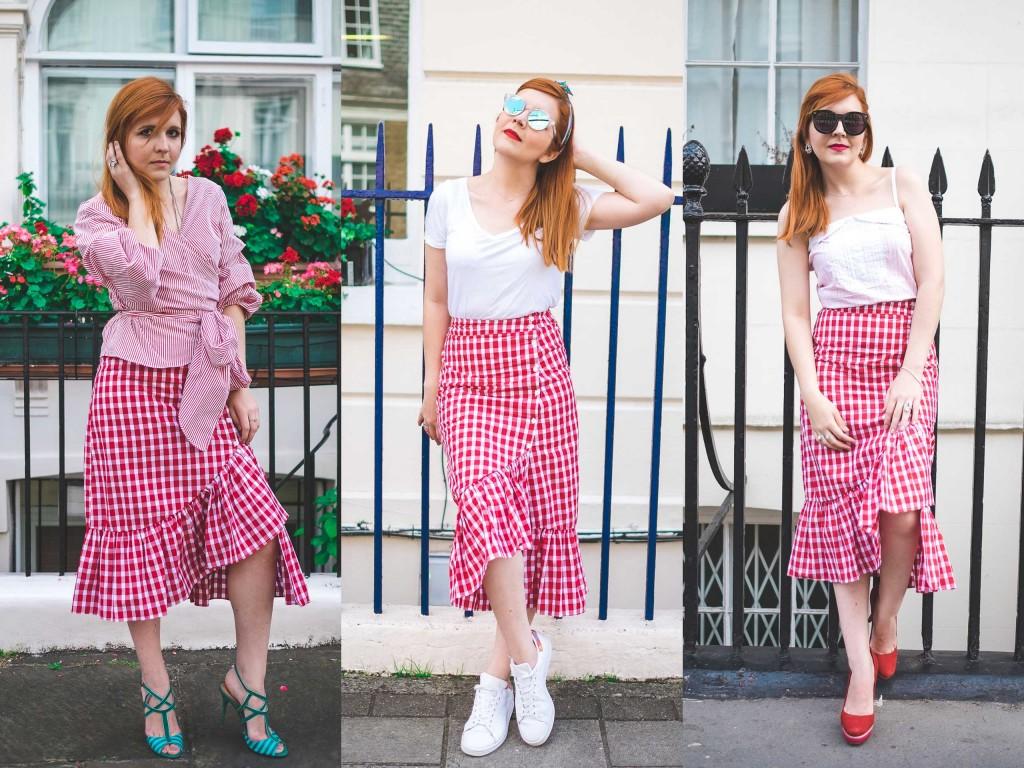 3×1 – Looks diferentes com a mesma saia