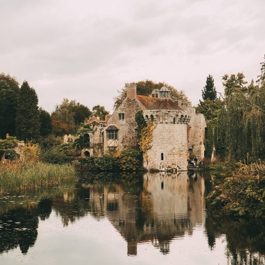 A Journey Through time - The Old And The New Scotney Castle